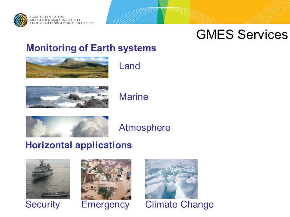 EU knowledge in support of Mitigation & Adaptation Last century re-Analysis Modelling scenario Observations Set of indicators and indices for the Climate drivers and climate impacts 6 th FP7 space call (July 10, 2012) Climate change service