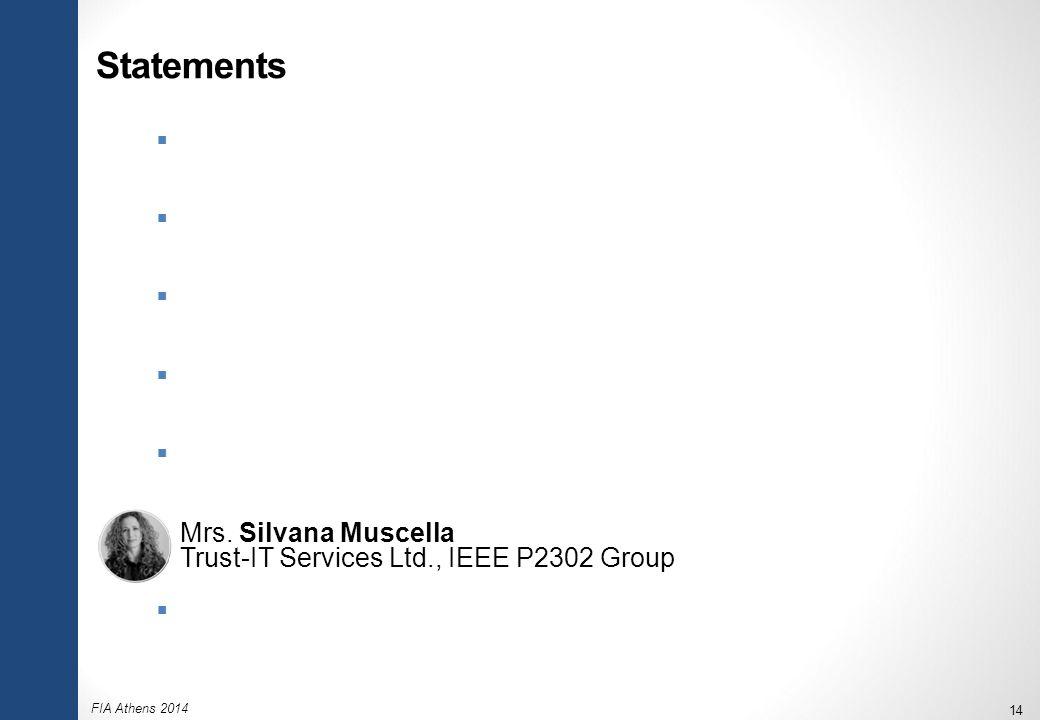 FIA Athens 2014 14 Statements  Mr.