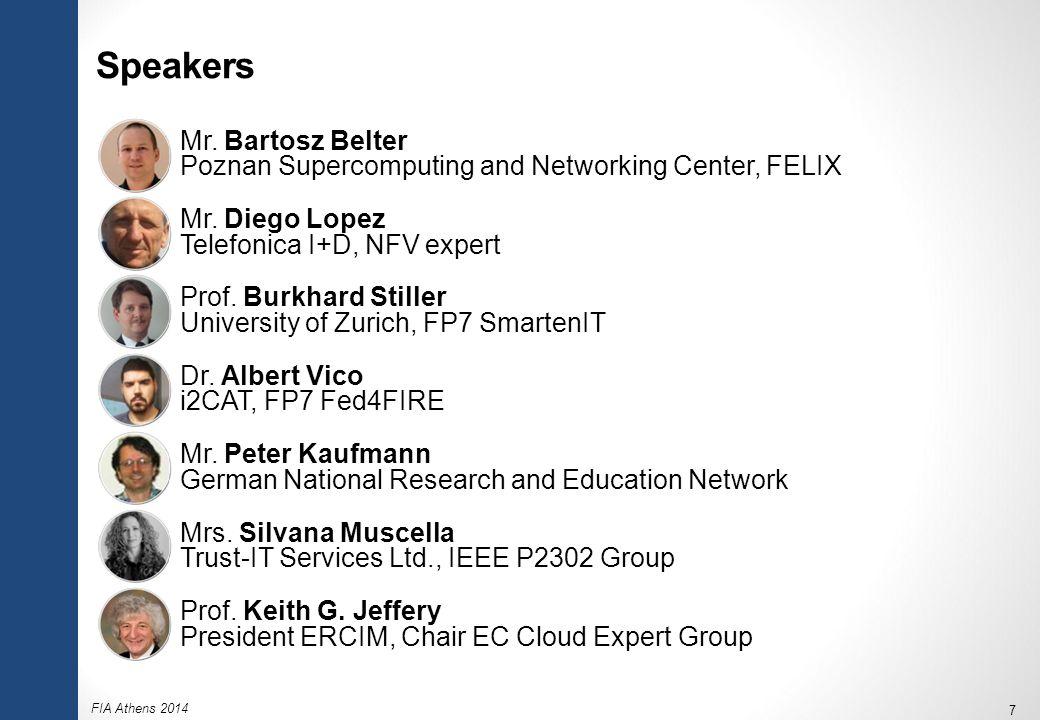 FIA Athens 2014 7 Speakers  Mr.
