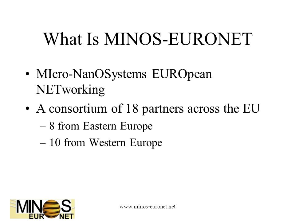 www.minos-euronet.net Eastern Partners