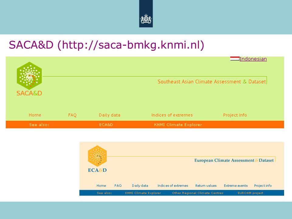 SACA&D (http://saca-bmkg.knmi.nl)