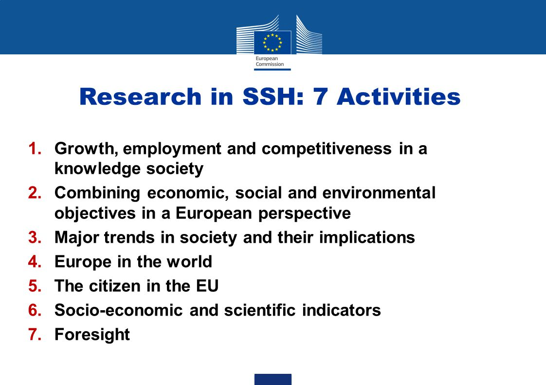 Funding Schemes SSH WP 2013 Funding Schemes  CP–SM: Collaborative Project (small or medium-scale focused research project) – less than 2.5 M€  CP-L: Collaborative Project (large-scale focused research project) – more than 4 M€ and less than 5 M€  CSA: Coordination and Support Action – less than 1.5 M€  ERA-NET plus (FP7 – ERANET- 2013- RTD) See Call text