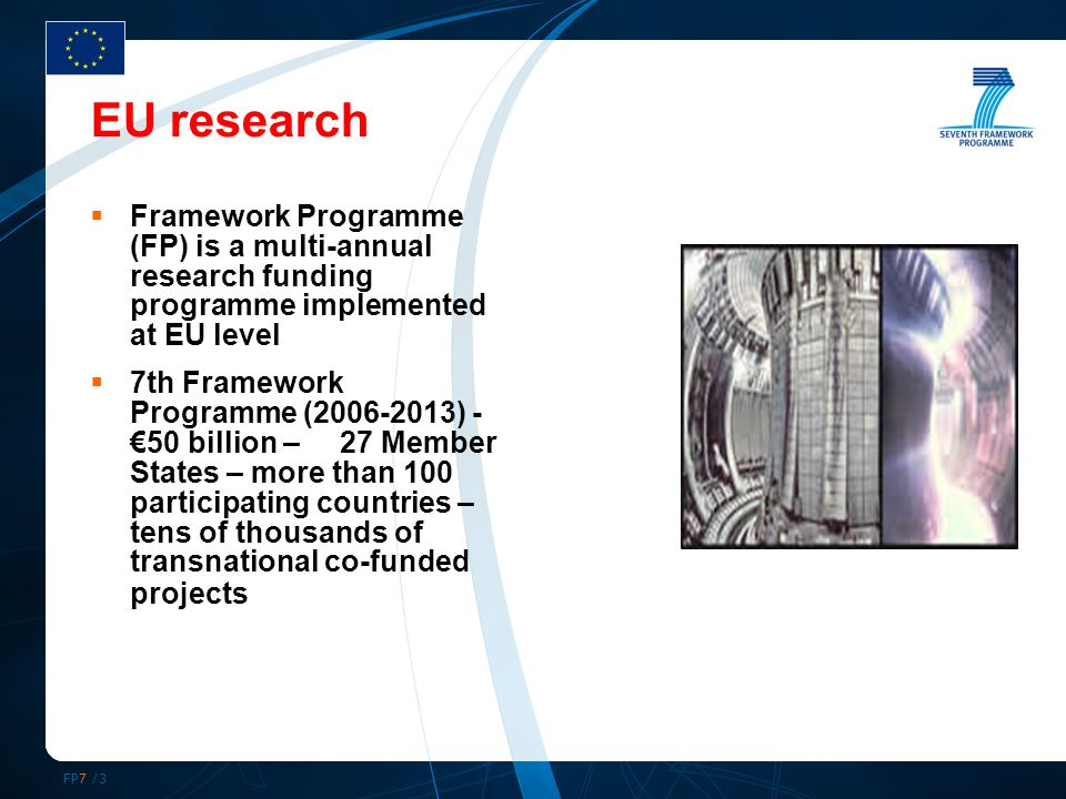FP7 /14 Evaluation study of FP structuring – (1)  FP6 networks are characterised by a core periphery structure dominated by a small number of closely-knit organisations.