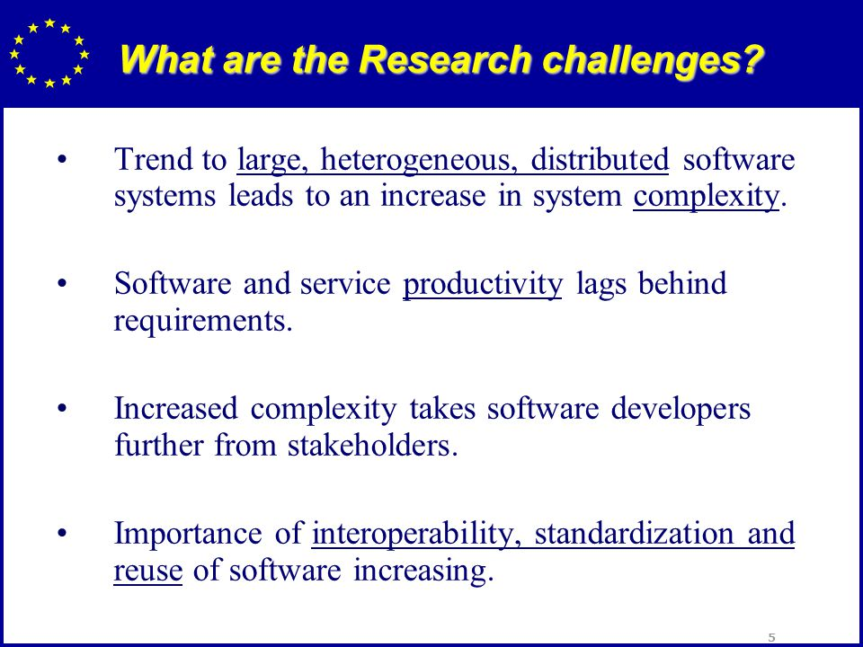 16 Open Source Software Research into technologies specifically supporting the development, deployment, evolution and benchmarking of open source software.