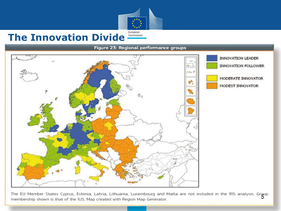 Policy Research and Innovation Research and Innovation The Innovation Divide 5