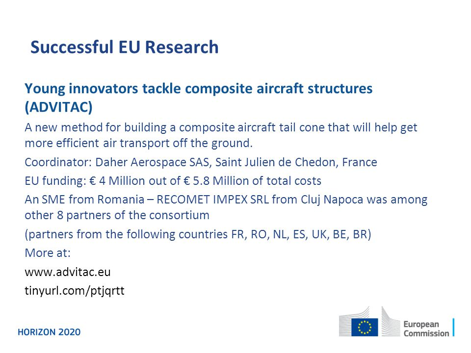 Successful EU Research Young innovators tackle composite aircraft structures (ADVITAC) A new method for building a composite aircraft tail cone that w