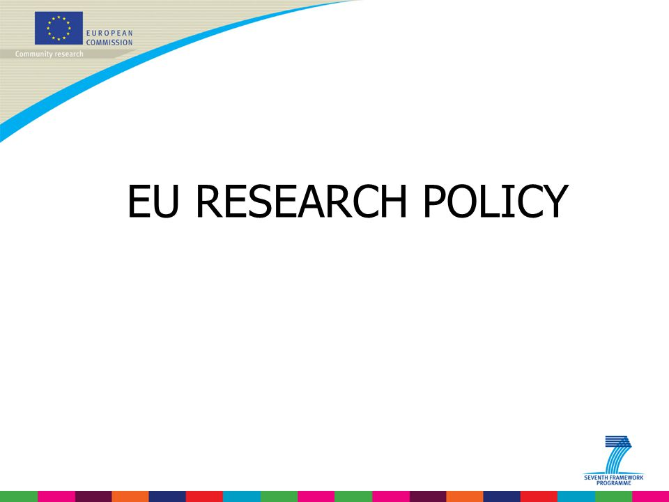 EU RESEARCH POLICY