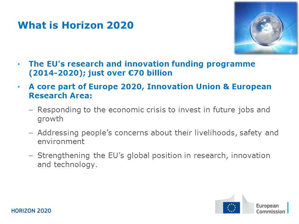 Components and systems / 2014-2015 (overall budget 142 M€) Covers systemic integration from smart integrated components to cyber-physical systems Complementary to the JTI Electronic Components and Systems (ECSEL) Organised in three related topics: Smart cyber-physical systems (56 M€) Next generation embedded and connected systems Smart system integration (48 M€) Integration of heterogeneous micro- and nanotechnologies into smart systems Advanced Thin, Organic and Large Area Electronics (38 M€) R&I in this area will also contribute to the implementation of the SRA on Energy Efficient Buildings ► Warning: still subject to Commission Decision 
