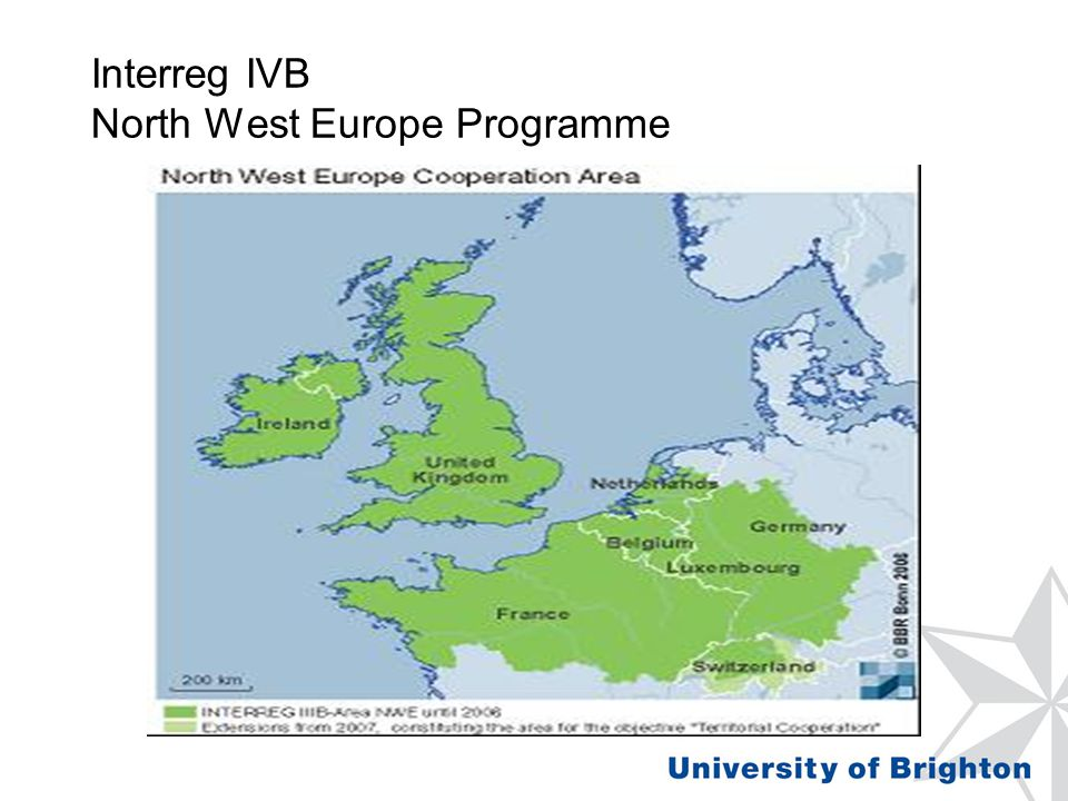 Interreg IVB North West Europe Programme