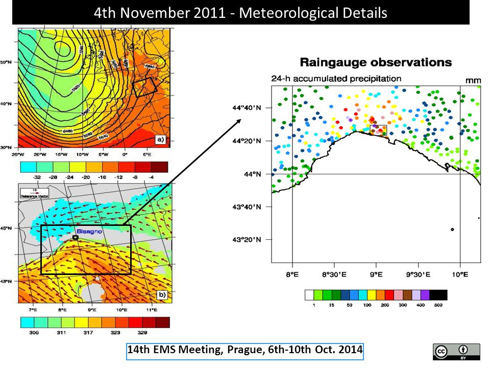 4th November 2011 - Meteorological Details 14th EMS Meeting, Prague, 6th-10th Oct. 2014