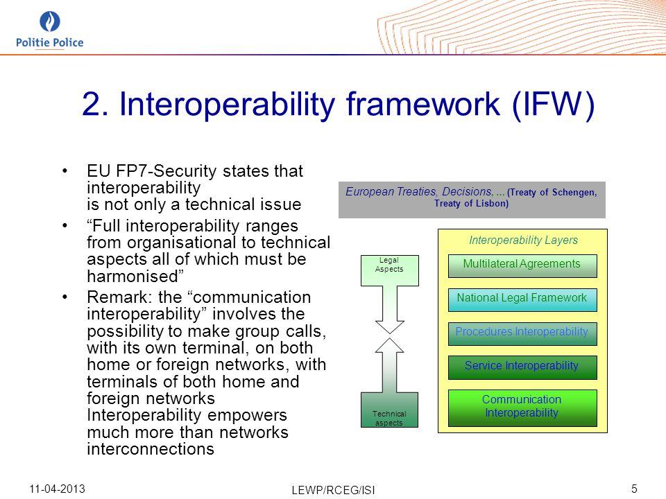 11-04-2013 LEWP/RCEG/ISI 6 3.