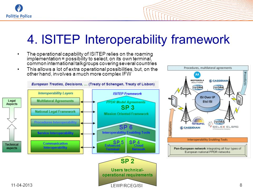11-04-2013 LEWP/RCEG/ISI 8 4.