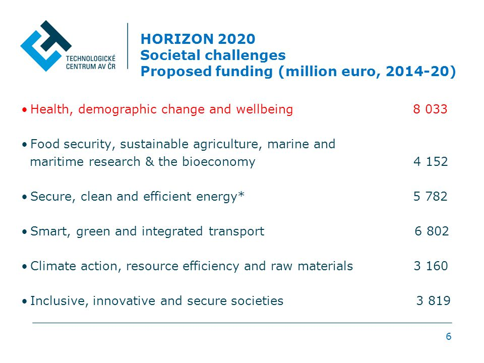 HEALTH, DEMOGRAPHIC CHANGE AND WELL-BEING Main Specific Challenges Considered 1.