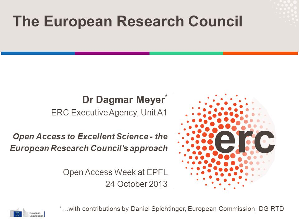 Established by the European Commission │ 2 Overview Introduction  What do we mean by Open Access.