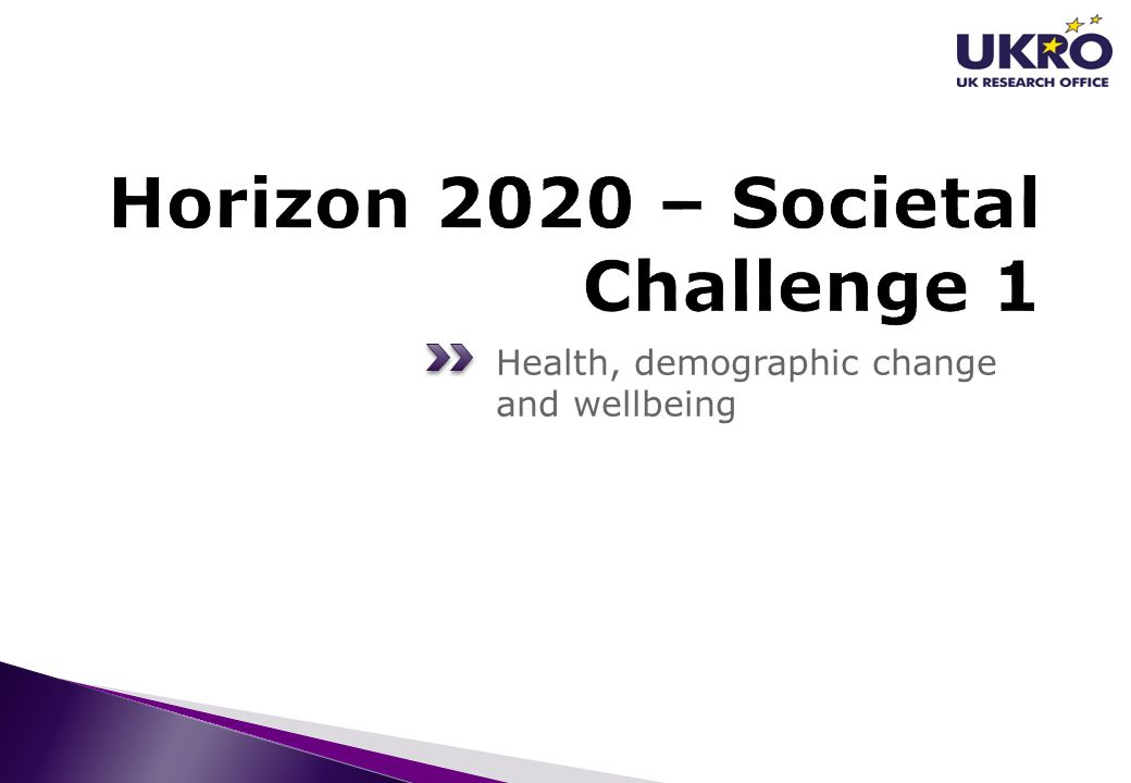 Health, demographic change and wellbeing