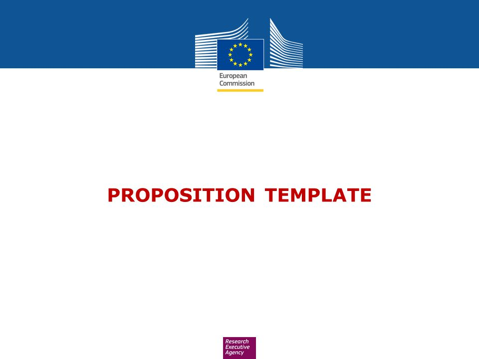 PROPOSITION TEMPLATE