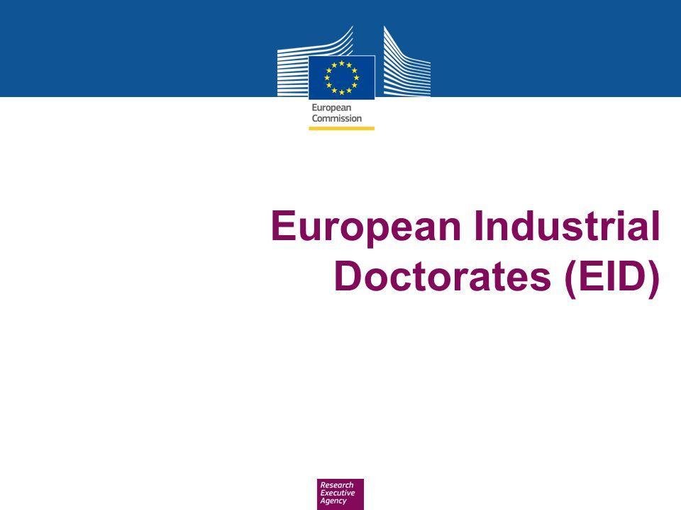 European Industrial Doctorates (EID)