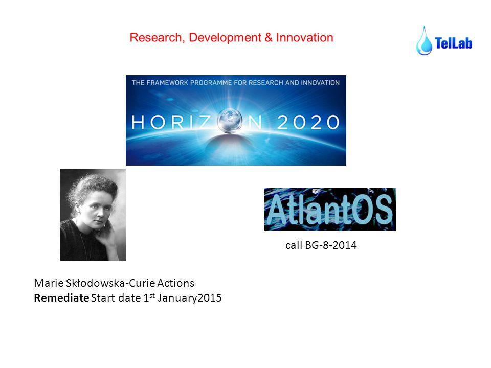 Marie Skłodowska-Curie Actions Remediate Start date 1 st January2015 call BG-8-2014
