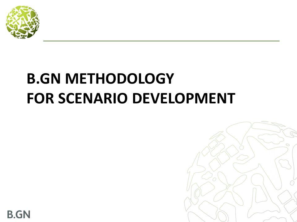 B.GN METHODOLOGY FOR SCENARIO DEVELOPMENT