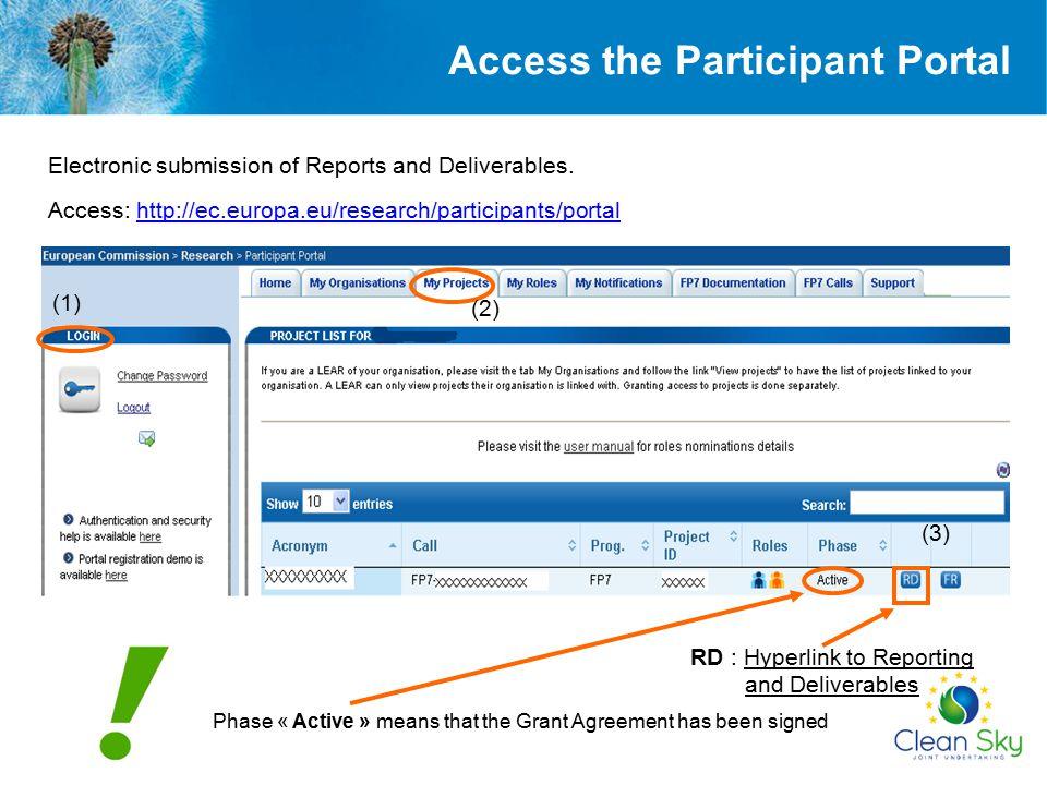 Mandatory !!! Periodic Report – core of the report