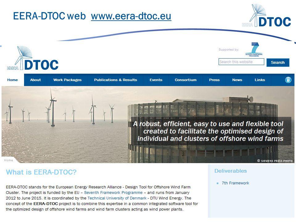 EERA-DTOC web www.eera-dtoc.eu