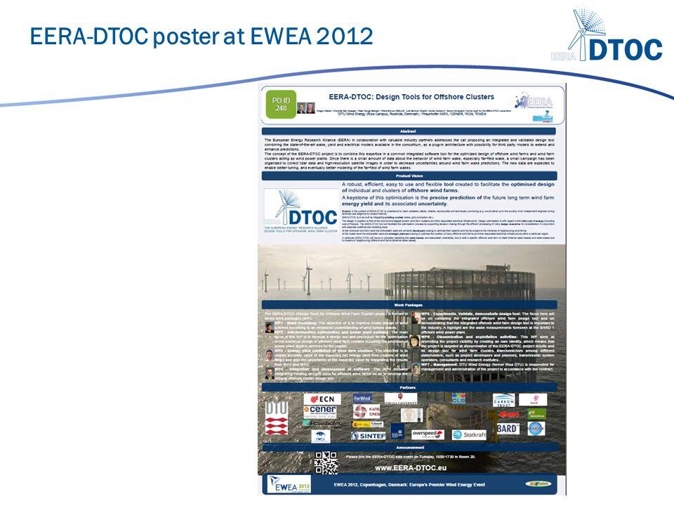 EERA-DTOC poster at EWEA 2012