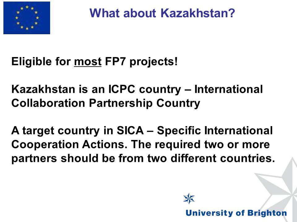 ICPC (international cooperation partnership countries) FP7 – International cooperation