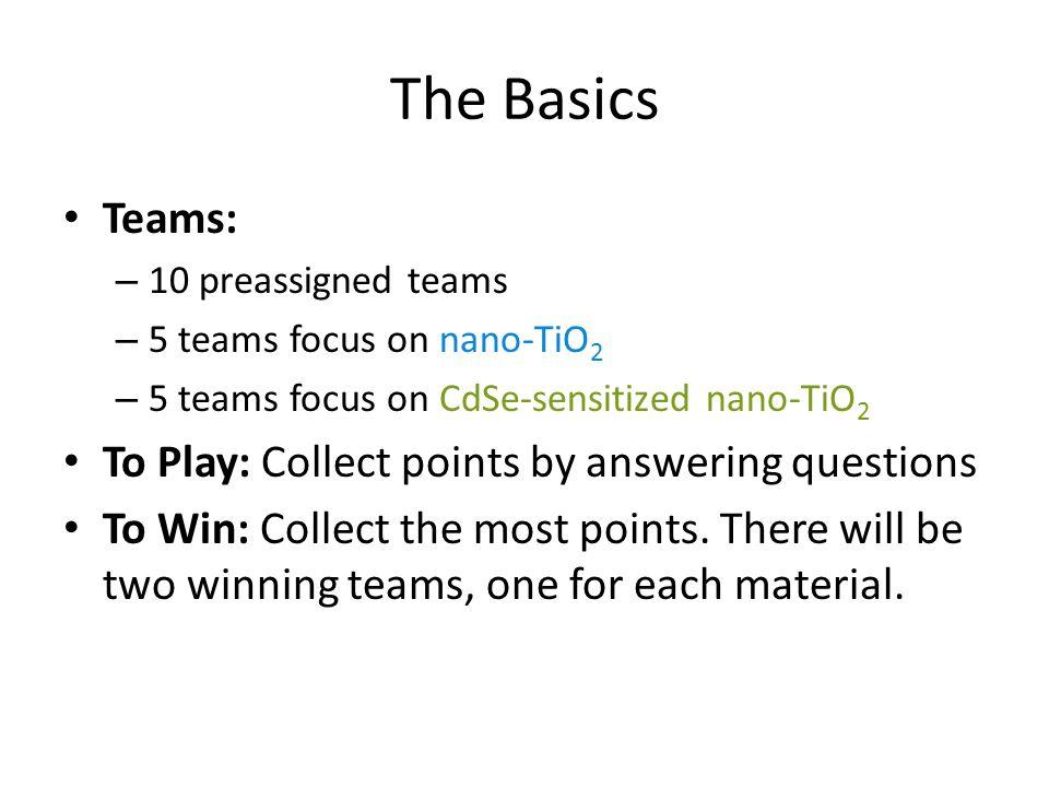Teams Check your badge.Teams are preassigned.