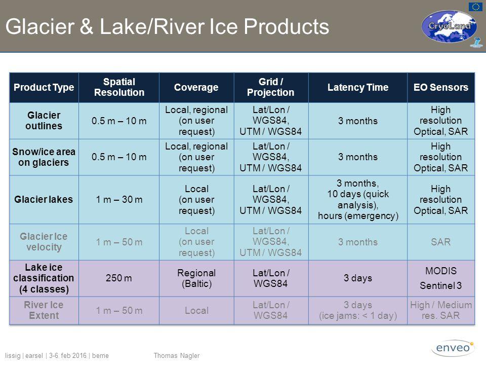 Glacier & Lake/River Ice Products lissig | earsel | 3-6 feb 2016 | berne Thomas Nagler
