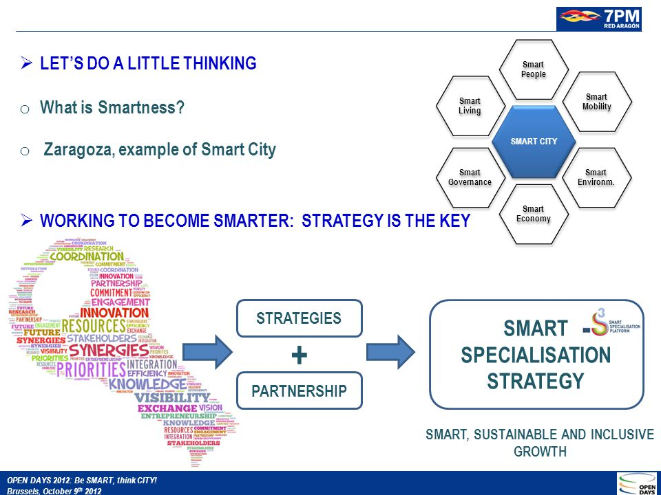 LET'S DO A LITTLE THINKING o What is Smartness.