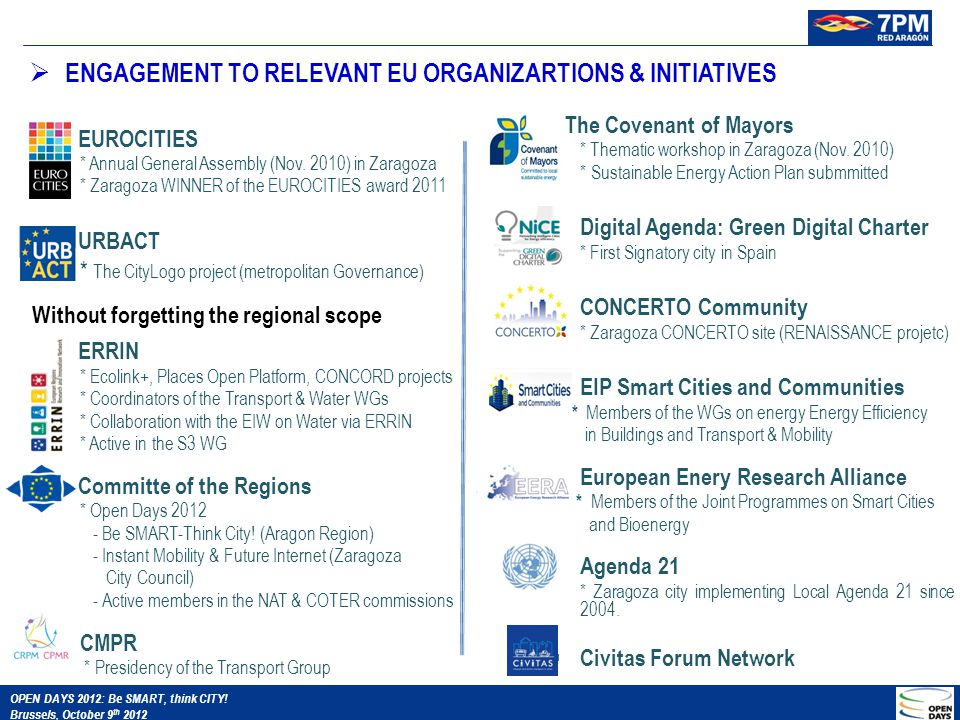  EUROCITIES * Annual General Assembly (Nov.