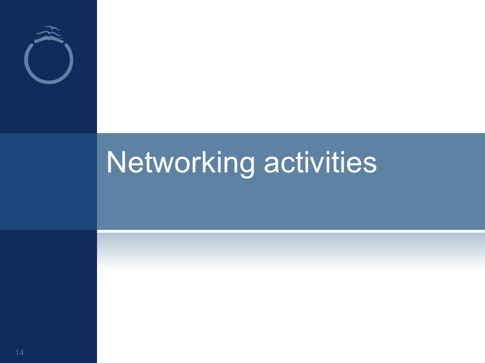 Networking activities 14