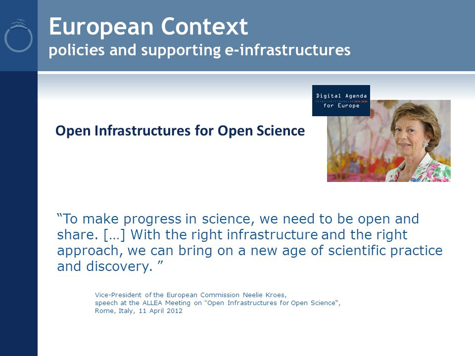 To make progress in science, we need to be open and share.