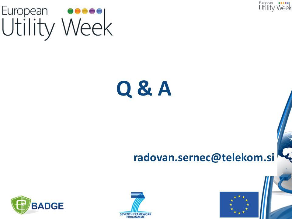 Q & A radovan.sernec@telekom.si