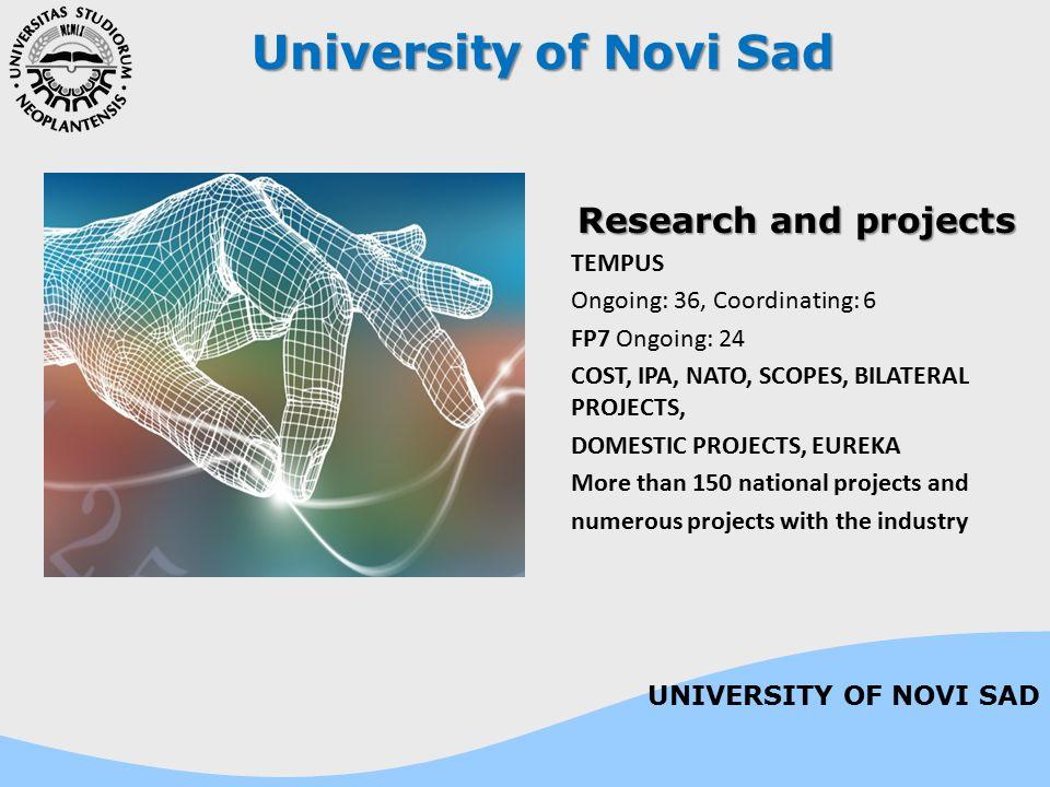University of Novi Sad Science and Technology park Phase I and II, over 20 mil.