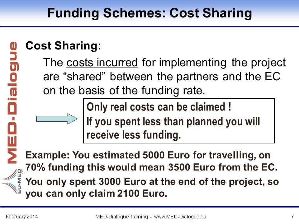 H2020 Cost Model – Eligible Costs The cost of personnel assigned to the project.