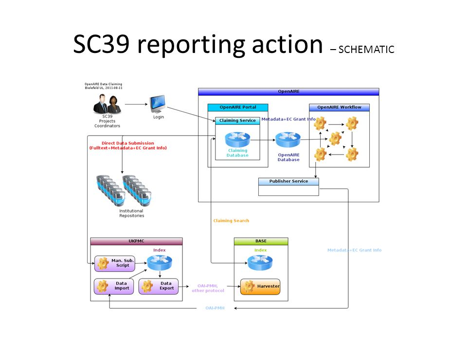 SC39 reporting action – SCHEMATIC