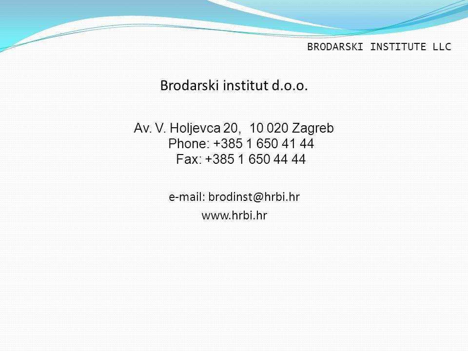 Brodarski institut d.o.o.Av. V.