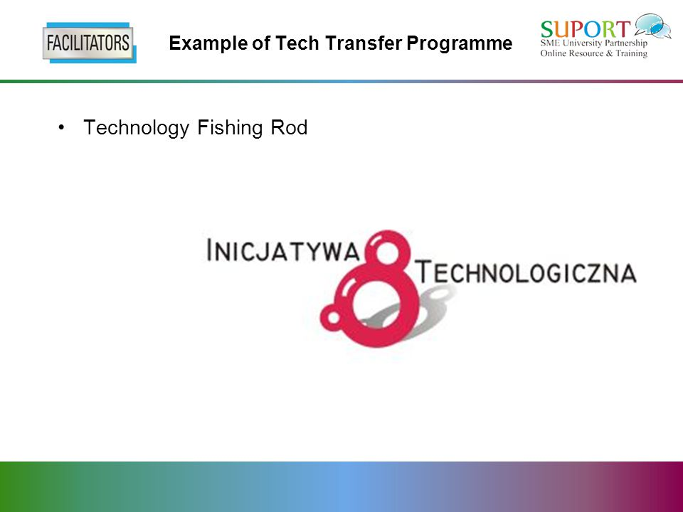Example of Tech Transfer Programme Technology Fishing Rod