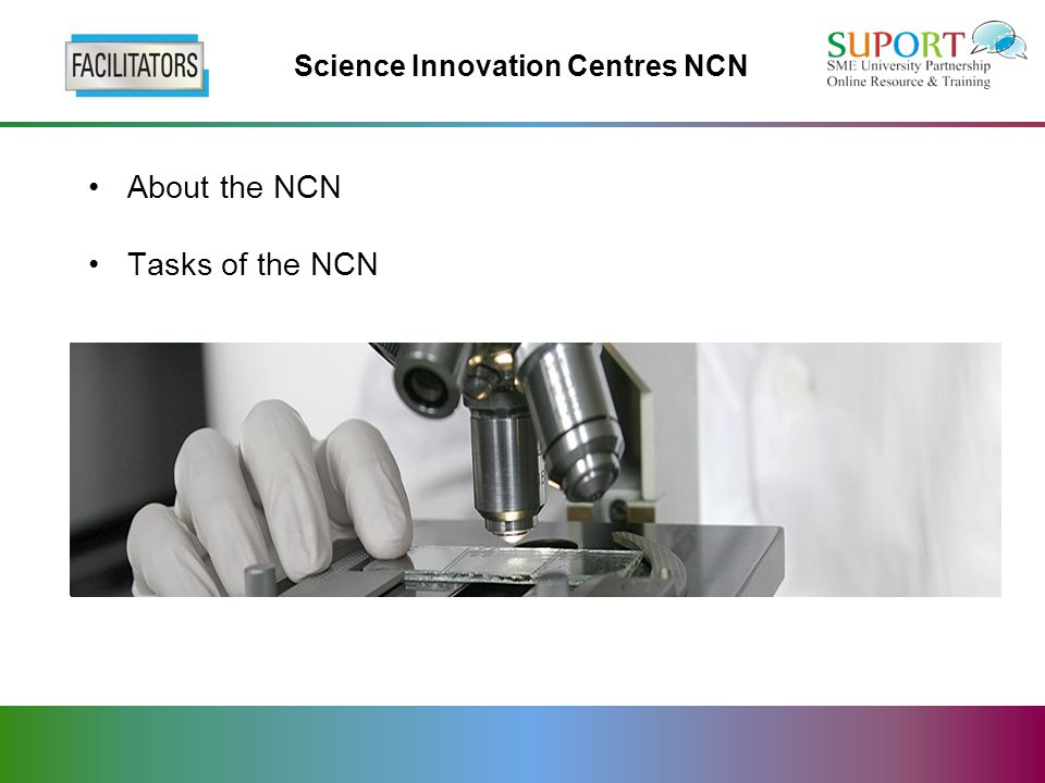About the NCN Tasks of the NCN
