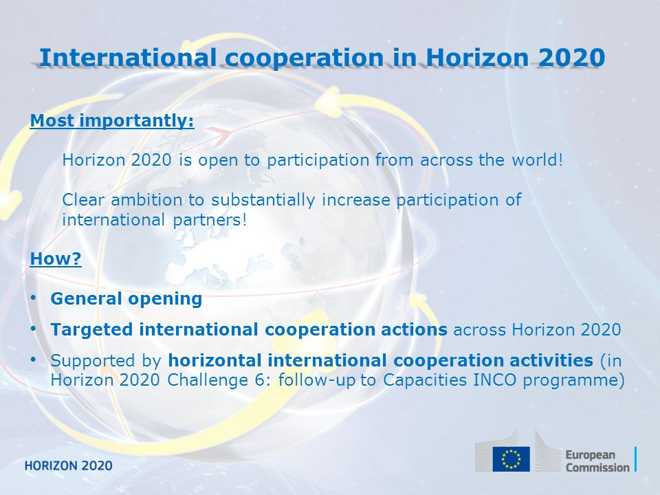 Horizon 2020 – What is in it for Russia.1.