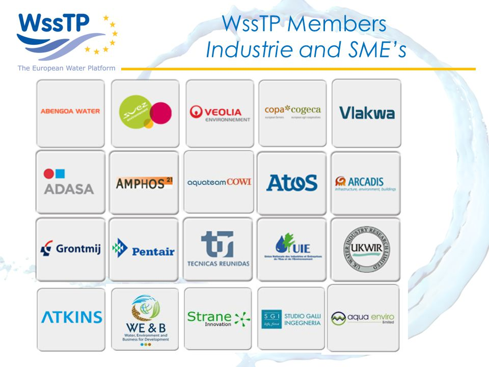 WssTP Members Industrie and SME's