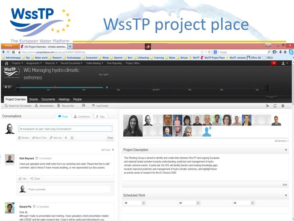 WssTP project place
