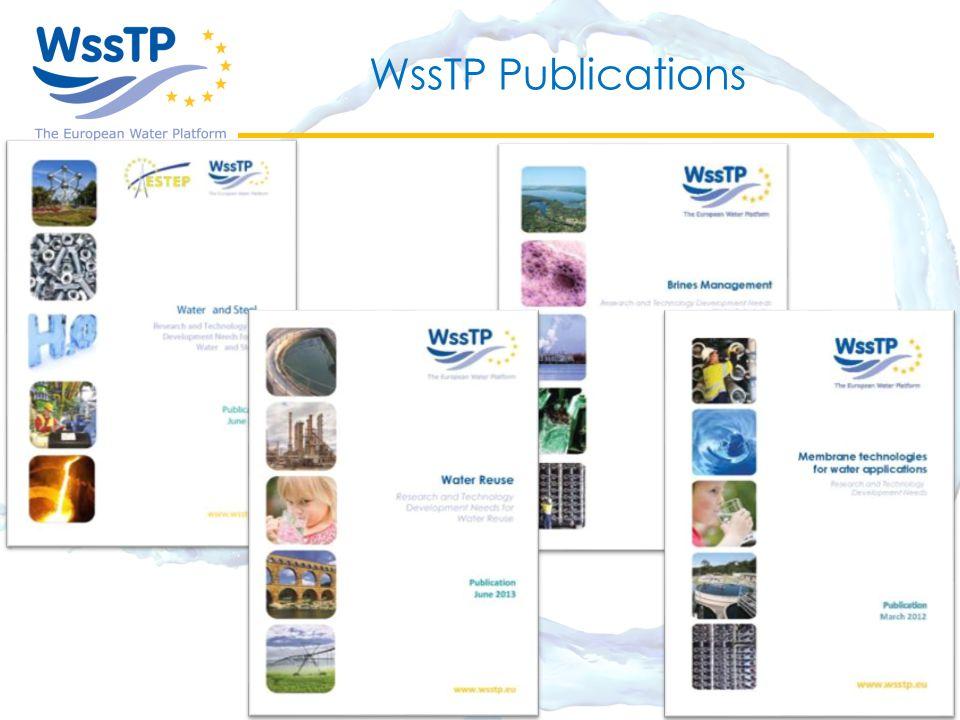 WssTP Publications