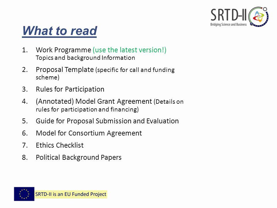Consortium Agreement Template