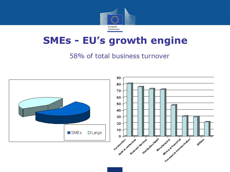Difficulties faced by SMEs Business and regulatory environment Access to finance Availability of skills Access to markets Access to research and innovation Networking among companies