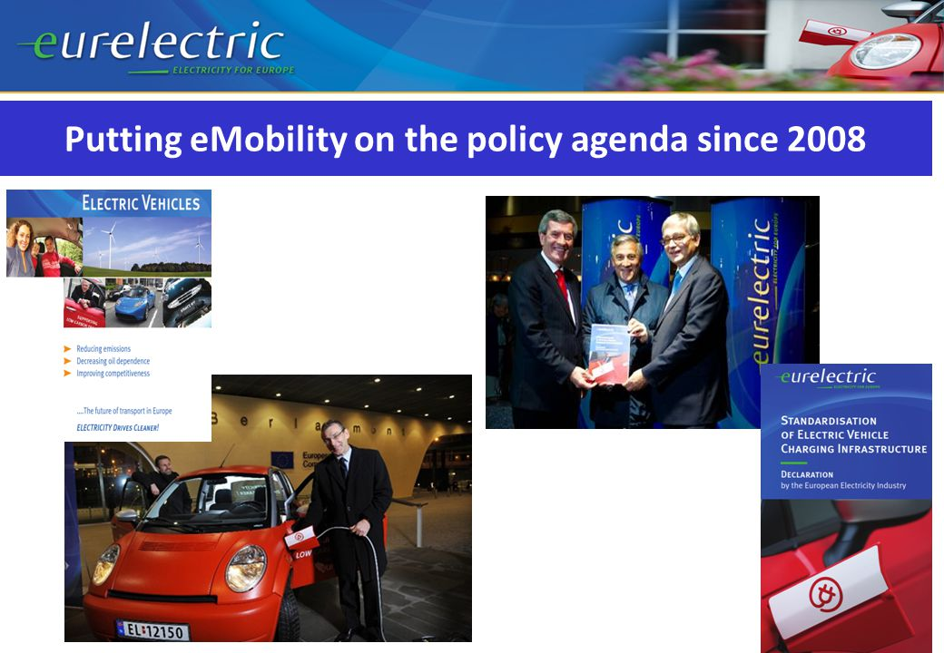 Putting eMobility on the policy agenda since 2008
