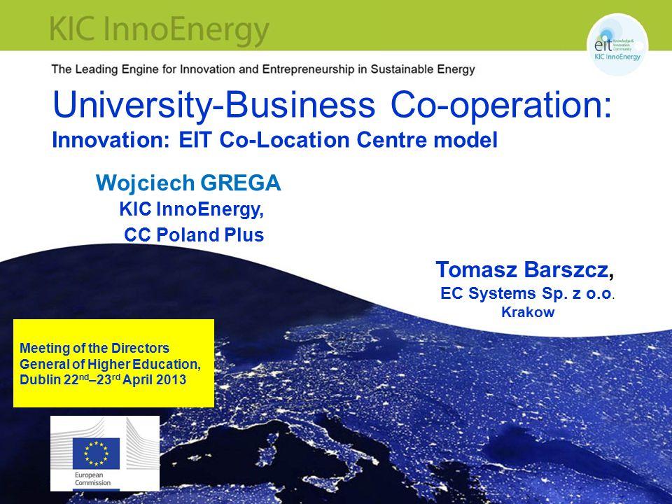 KIC InnoEnergy | Boosting Innovation for Sustainable Energy | Speaker: Rafał Mrówka 32 Thank you for your attention.