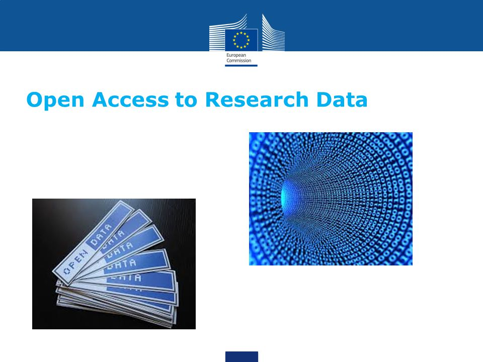 Open Access to Research Data