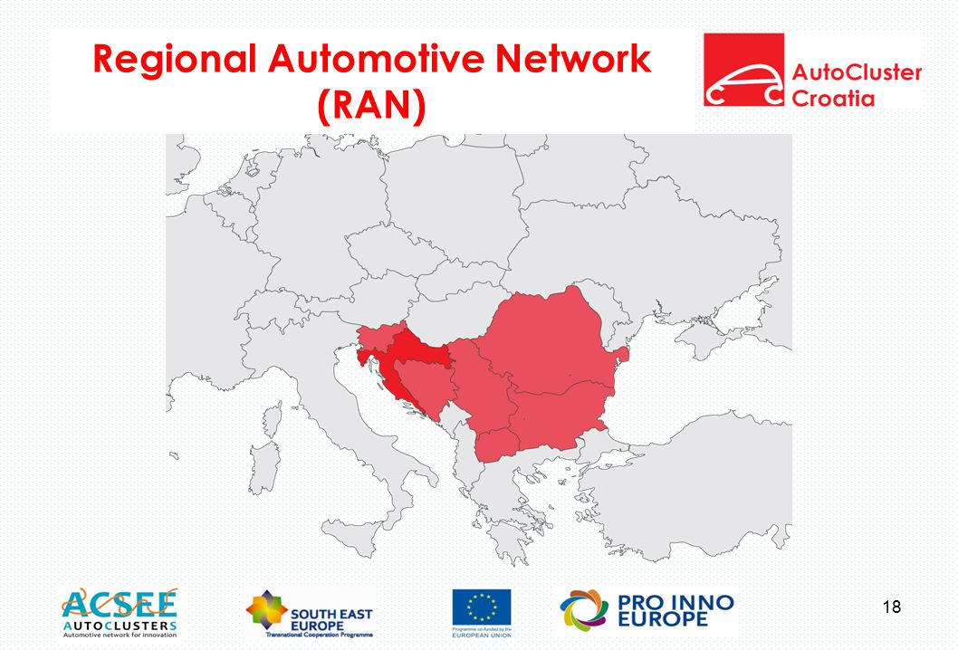 Regional Automotive Network (RAN) 18
